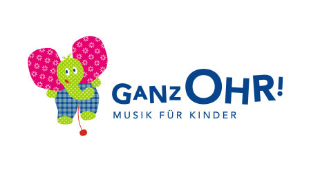 "Initiative ""Ganz Ohr! – Musik für Kinder"": Corporate Design und Website"
